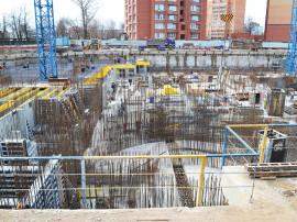 ход строительства 31 квартала пушкино 3