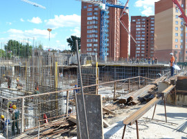 ход строительства 31 квартала пушкино 7