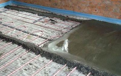 Как правильно сделать теплый бетонный пол