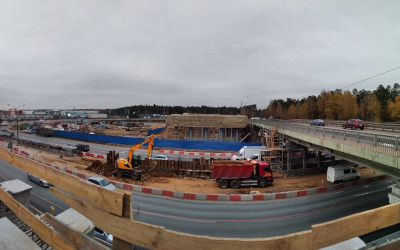 Поставляем бетон для реконструкции М-8 «Холмогоры»